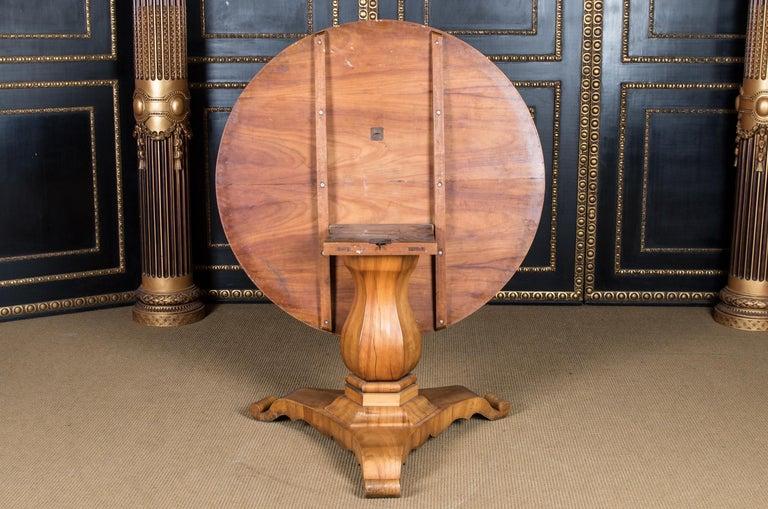 Biedermeier Table Cherrywood Original, 1820 For Sale 5
