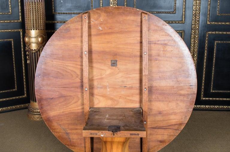 Biedermeier Table Cherrywood Original, 1820 For Sale 6