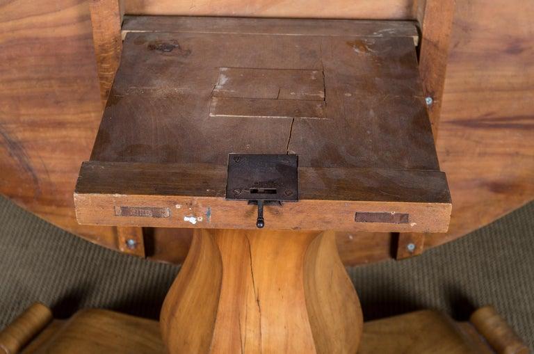 Biedermeier Table Cherrywood Original, 1820 For Sale 7