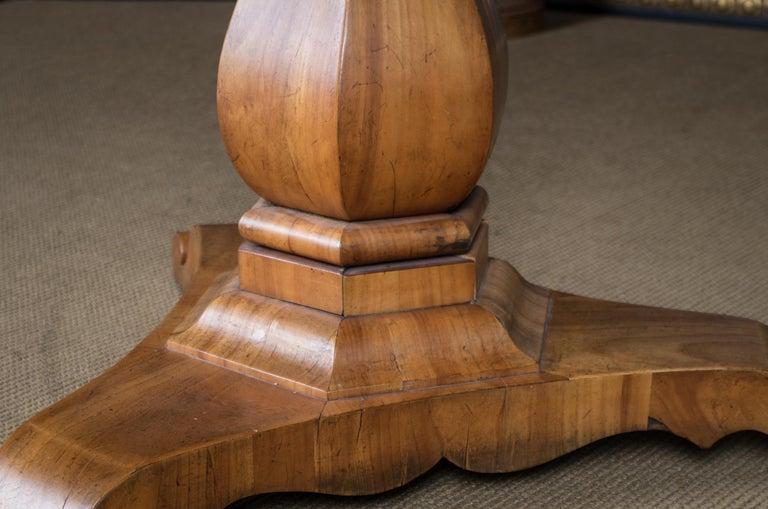 Biedermeier Table Cherrywood Original, 1820 For Sale 1