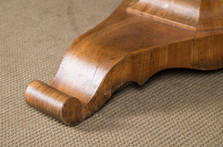 Biedermeier Table Cherrywood Original, 1820 For Sale 2