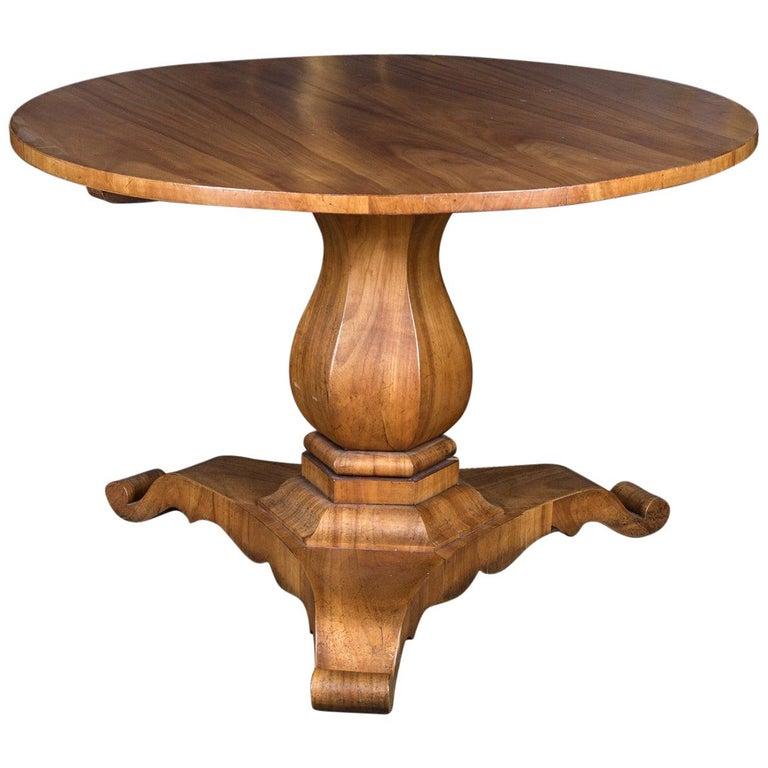 Biedermeier Table Cherrywood Original, 1820 For Sale