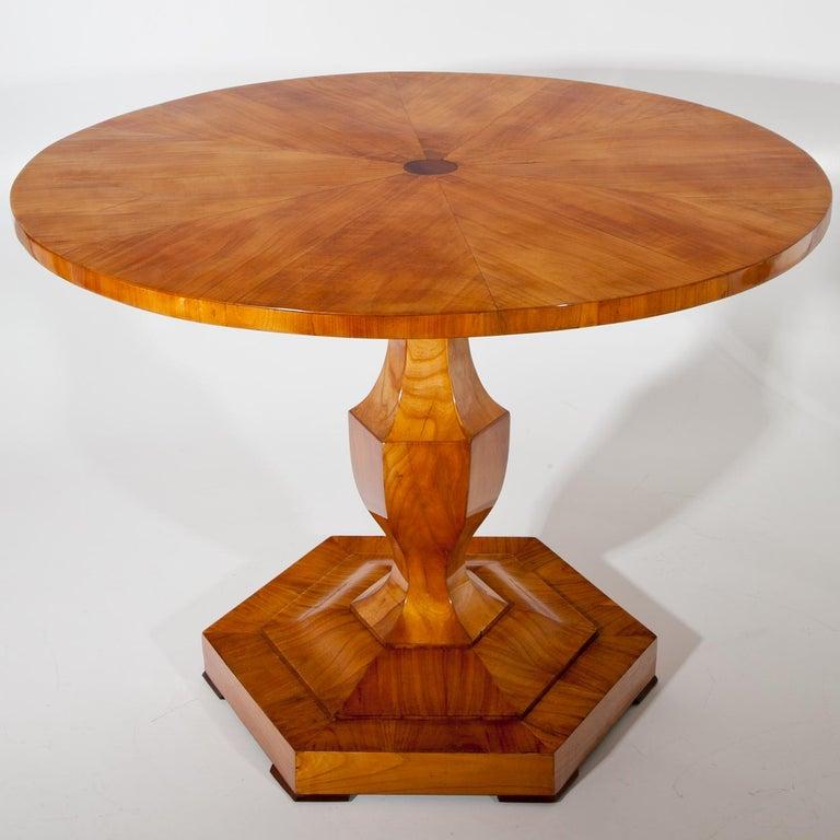Early 19th Century Biedermeier Table, Danube Monarchy, 1820-1825 For Sale