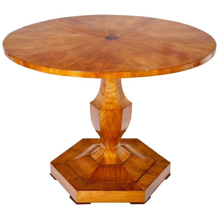 Biedermeier Table, Danube Monarchy, 1820-1825 For Sale