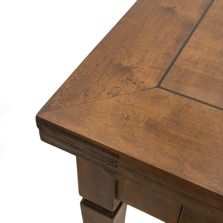 Biedermeier Table, Extandable, Germany, 19th Century For Sale 6