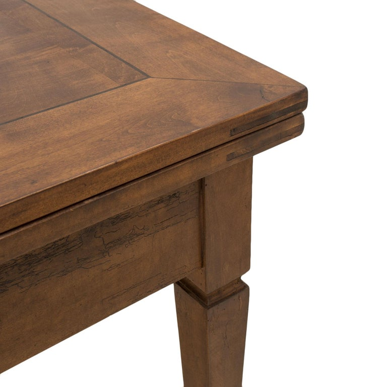 Biedermeier Table, Extandable, Germany, 19th Century For Sale 7