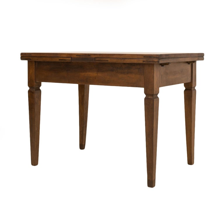 Biedermeier Table, Extandable, Germany, 19th Century In Good Condition For Sale In Wrocław, Poland