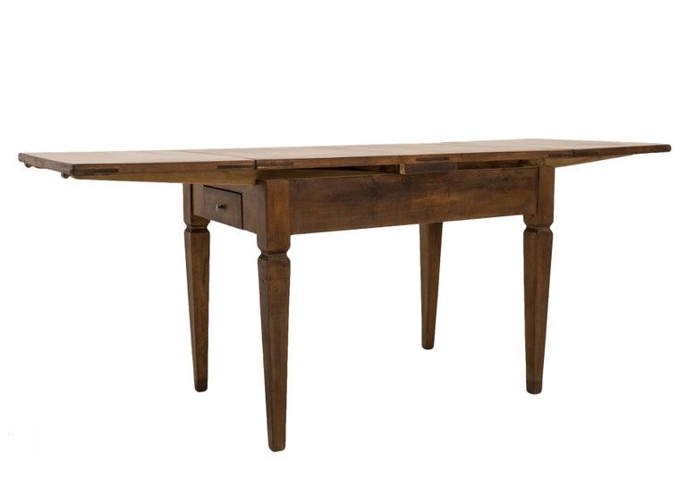 Biedermeier Table, Extandable, Germany, 19th Century For Sale 1
