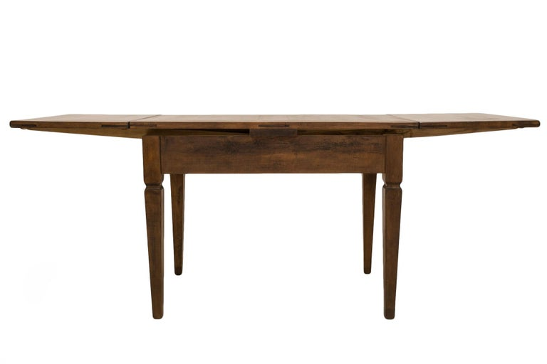 Biedermeier Table, Extandable, Germany, 19th Century For Sale 2