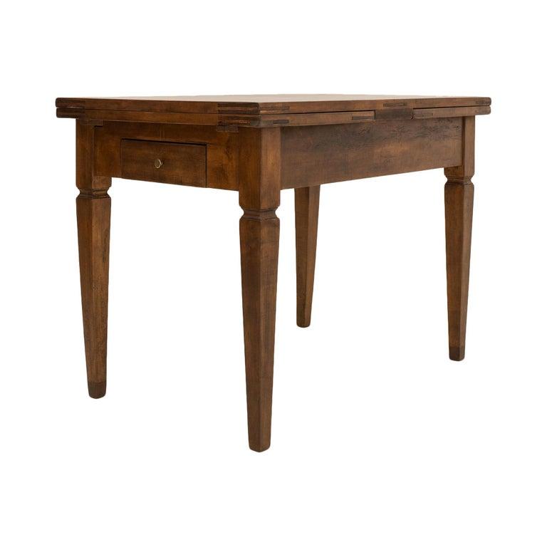 Biedermeier Table, Extandable, Germany, 19th Century For Sale