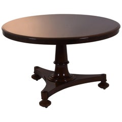 Biedermeier Table Mahogany Lübeck, circa 1830