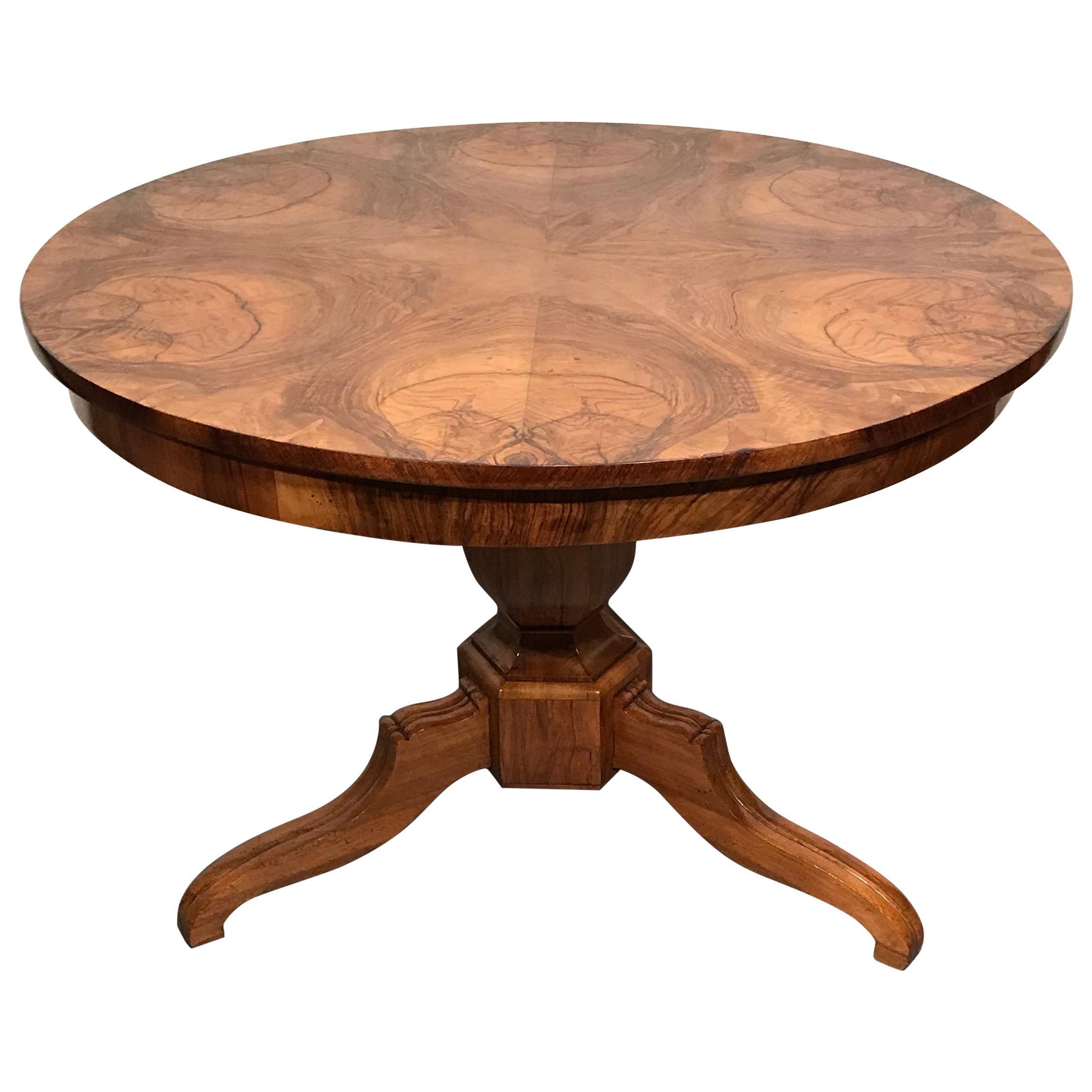 Biedermeier Table, South German, 1820-30