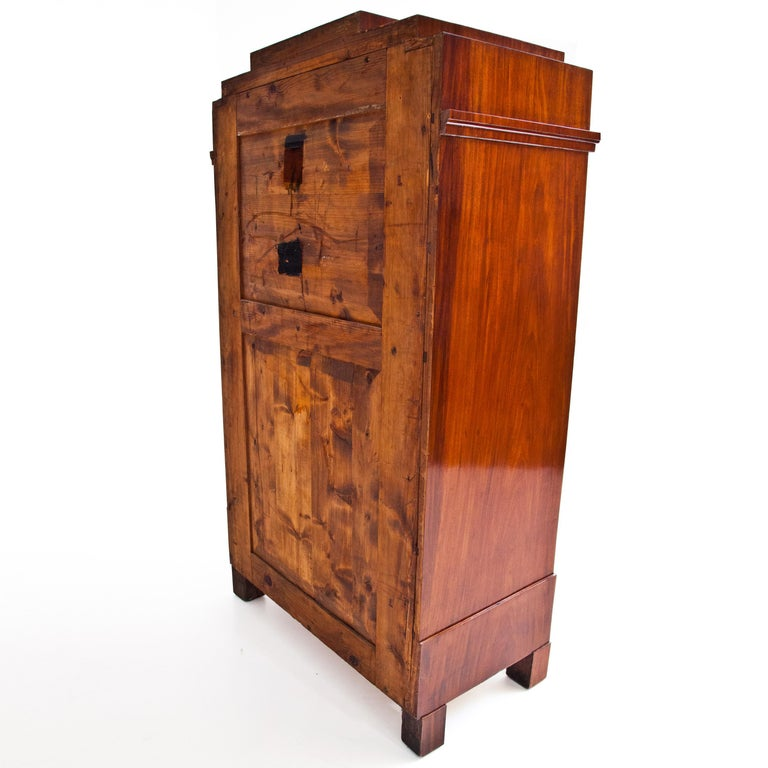 Biedermeier Tall Chest of Drawers, circa 1820 For Sale 1