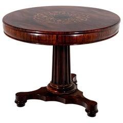 Biedermeier Tea Table, circa 1840