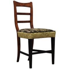 Biedermeier Walnut Wood Austrian Chair, 1820