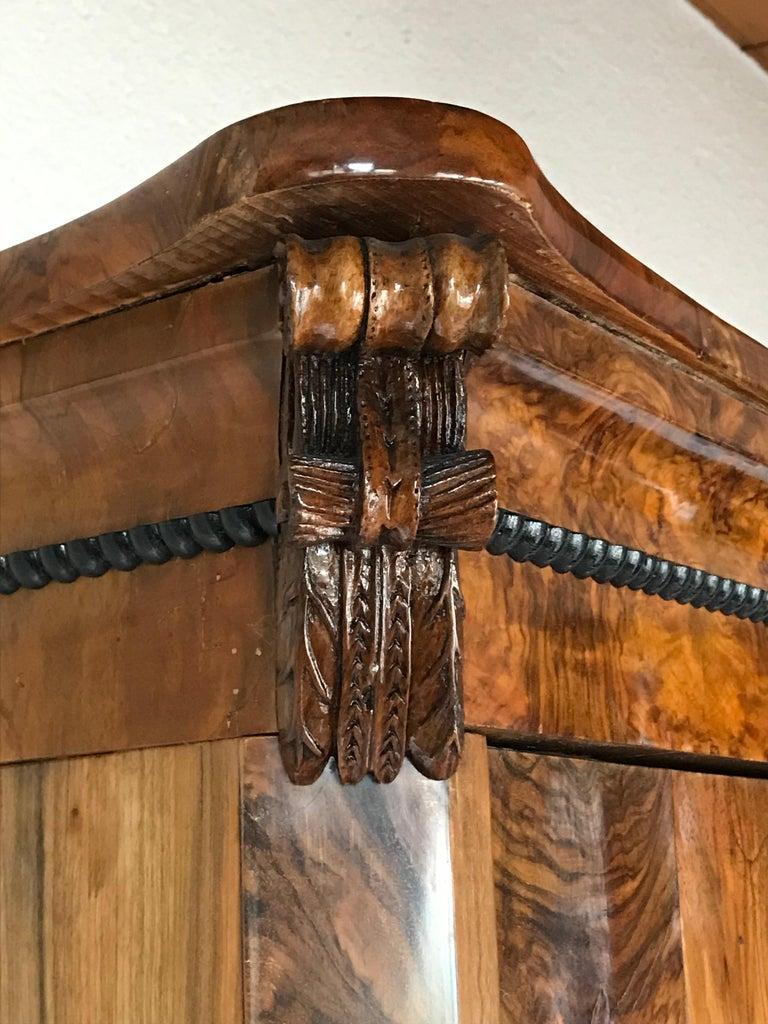 Biedermeier Wardrobe, South German, 1820 For Sale 1