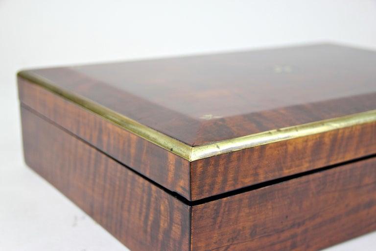 Biedermeier Wooden Box, Austria, circa 1830 For Sale 9