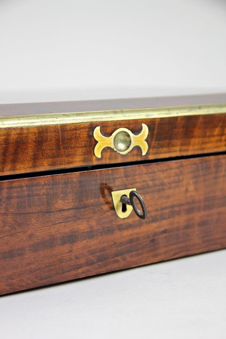 19th Century Biedermeier Wooden Box, Austria, circa 1830 For Sale