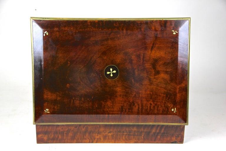 Biedermeier Wooden Box, Austria, circa 1830 For Sale 2