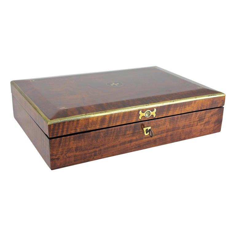 Biedermeier Wooden Box, Austria, circa 1830 For Sale