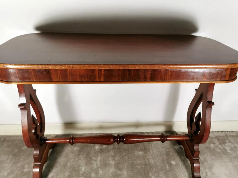 Other Biedermeir Coffee Table 'or Writing Desk' in Mahogany, Denmark For Sale