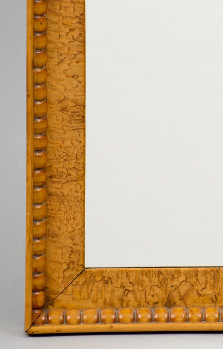 Biedermeier Biedermeir Maple Mirror For Sale