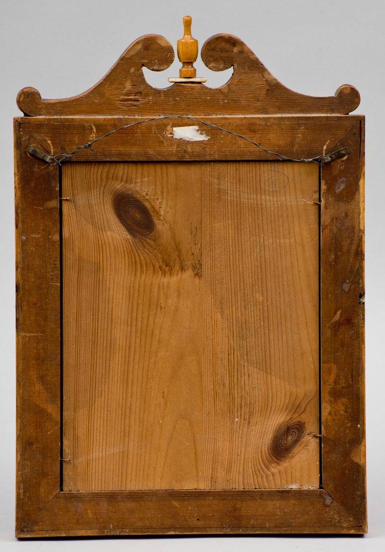 German Biedermeir Maple Mirror For Sale