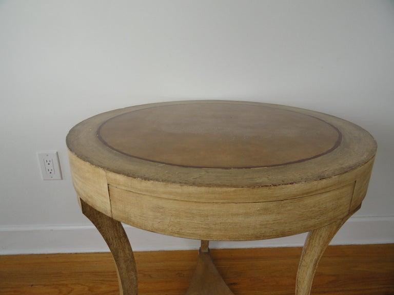 Biedermeier Biedermier Style Round Table For Sale