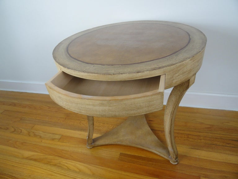 Biedermier Style Round Table For Sale 2