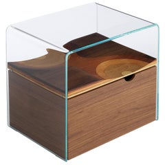 Bifronte Nightstand with Drawer by Toyo Ito