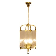Big Adolf Loos Secession Style, Jugendstil, Lantern, Re-Edition