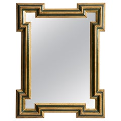 Big and Decorative Mirror Produced in Sweden