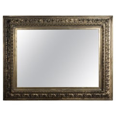 Big Antique Mirror Baroque Still from 1870-1880