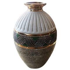Big Art Deco Vases in Ceramic, France, 1930