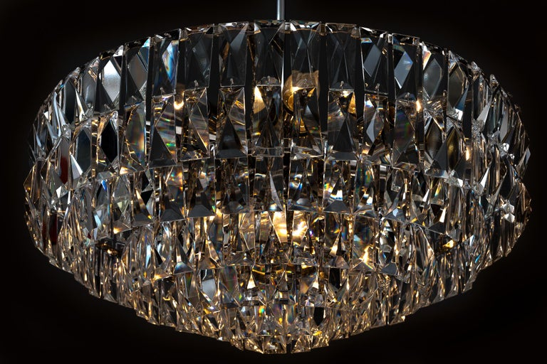 Big Bakalowits Crystal Chandelier, circa 1960s For Sale 7