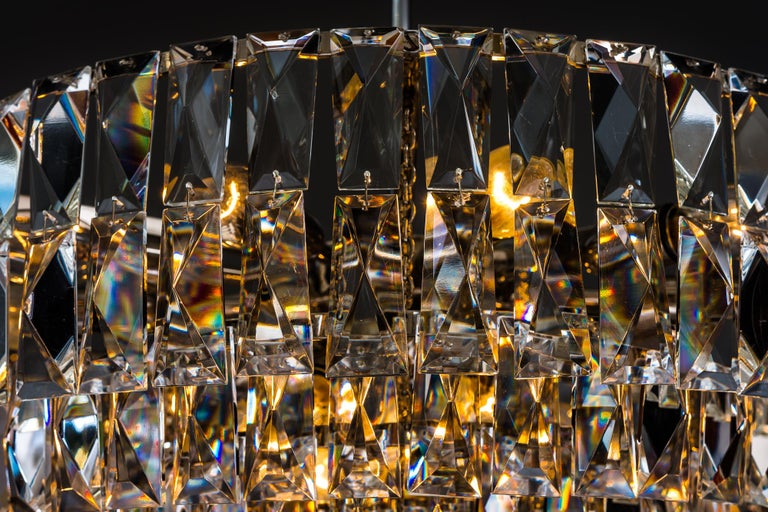 Big Bakalowits Crystal Chandelier, circa 1960s For Sale 8