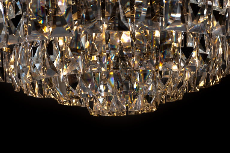 Big Bakalowits Crystal Chandelier, circa 1960s For Sale 9