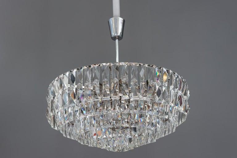 Big Bakalowits crystal chandelier, circa 1960s Original condition.
