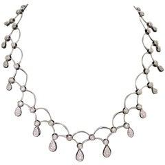 Big Bang for the Buck Diamond Necklace in 18 Karat 2.75 Carat