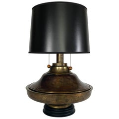 Big Brass, Large Vintage Table Lamp