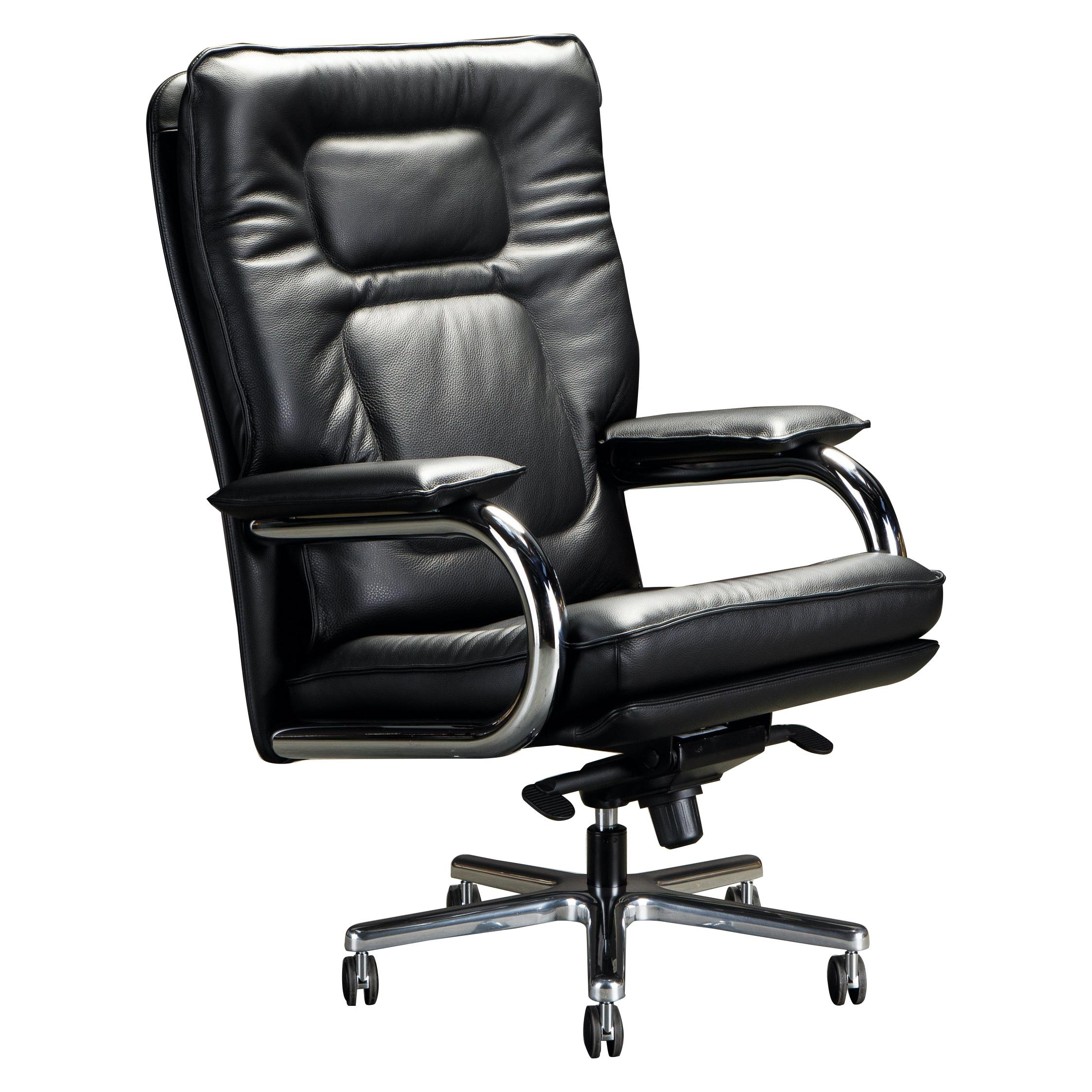 'Big' by Guido Faleschini for i4Mariani Leather Executive Desk Chair, Italy, New