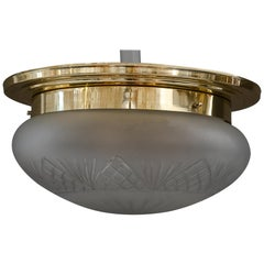 Big Ceiling Lamp in the Style of Art Deco