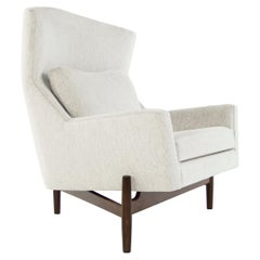 Big Chair by Jens Risom in Chenille