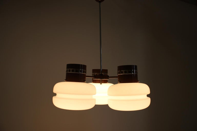 Late 20th Century Big Chandelier by Napako, 1970s For Sale