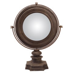 Big Convex Round Mirror, Italy, 1700