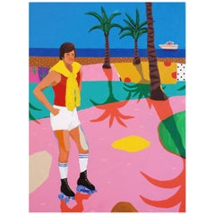 'Big Dreams, Tiny Pockets' Portrait Painting by Alan Fears