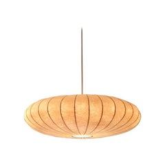 Big Flying Saucer Cocoon Pendant Lamp, 1960s