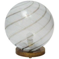 Big Globe Table Lamp by Venini