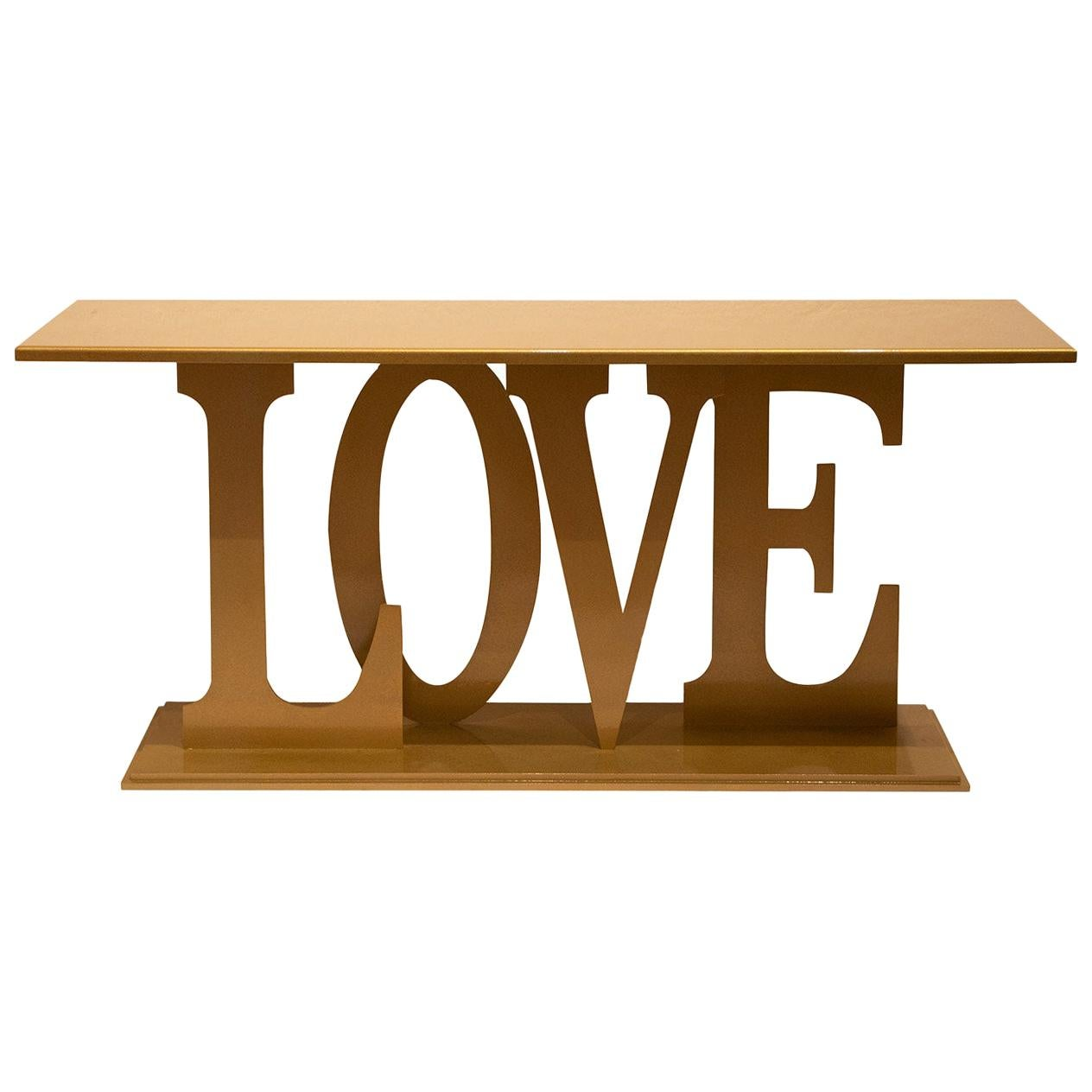 Big Gold Love Console