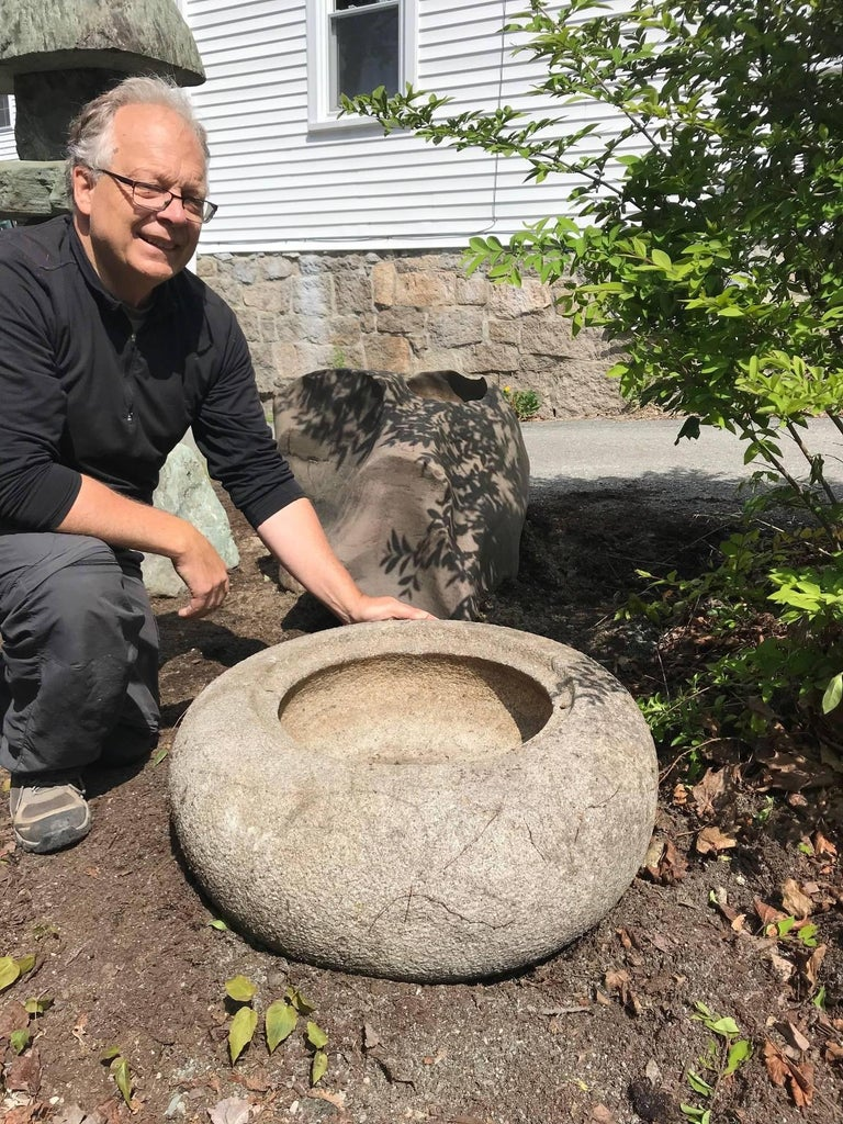 Japan, a handsome, smooth, and large antique round